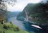 QE2 Seven Sisters Waterfall Geirangerfjord Norway