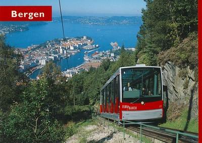 Fløibanen Funicular Bergen