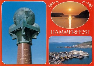 NORDNORGE 1964 EUROPA 1981 Hammerfest