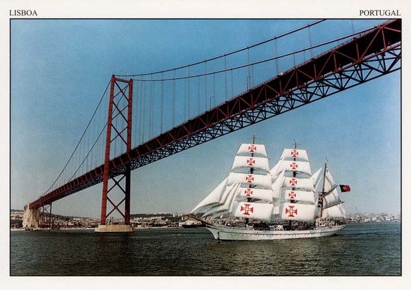 NRP SAGRES [III] 1937 Portuguese Navy Training Ship