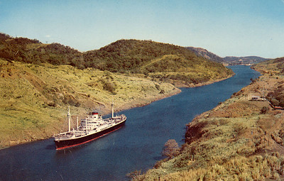 Name Ship Gaillard Cut Panama Canal from Nov 1965