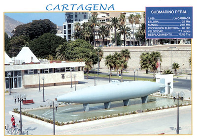 PERAL 1888 1st Capable Military Sub Cartagena-001
