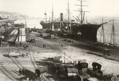 Santander Port 1895