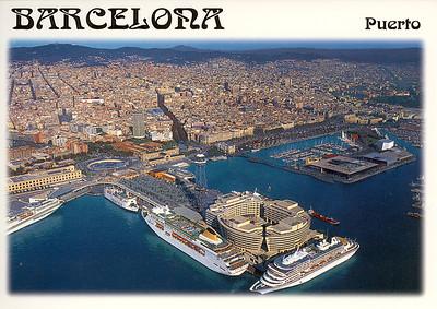 ISLA DE BOTOFOC ARCADIA SEABOURN SUN Barcelona