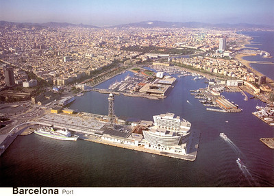 Trasmediterranea Canguro Class Eurostars Grand Marina Construction Barcelona