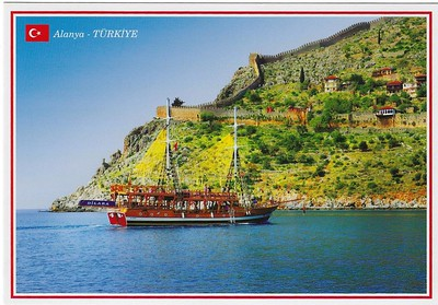 Turkish Tourist Boat Alanya