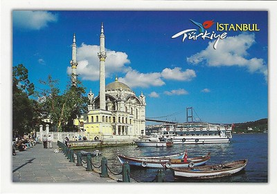 Ortakoy Mosque Cami Ferries Istanbul