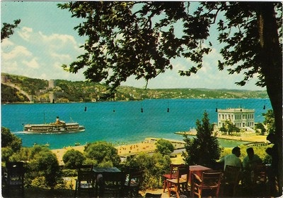 View of Bosphorus & Rumeli Hisari Castle Istanbul Ferry