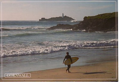 Cornwall Godrevy Lighthouse from 2013