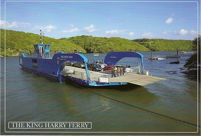 King Harry Ferry River Fal