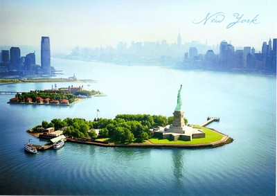 Ferries Statue of Liberty from 2012