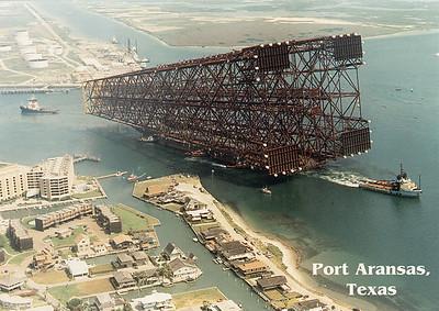 Bullwinkle Rig Port Aransas Texas