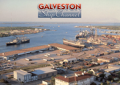 Lykes Line others Galveston Ship Channel Texas