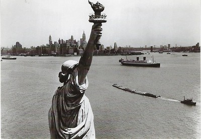 Greeting Card Statue of Liberty New York