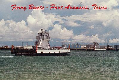 Name Ferry Port Aransas Texas