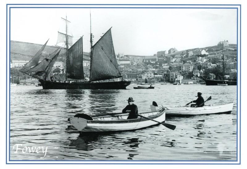 Fowey Harbour c late 1890s 001
