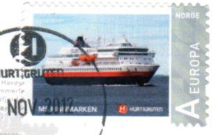 sFINNMARKEN stamp 10 12 2012