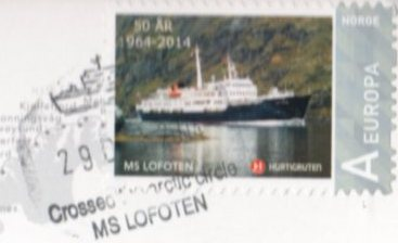 LOFOTEN Arctic Circle Stamp