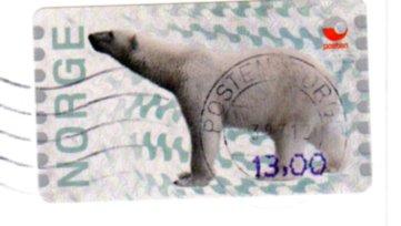 Stamp NORDSTJERNEN Svalbard 2012 22 11