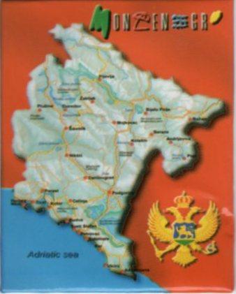 2013 Montenegro Magnet