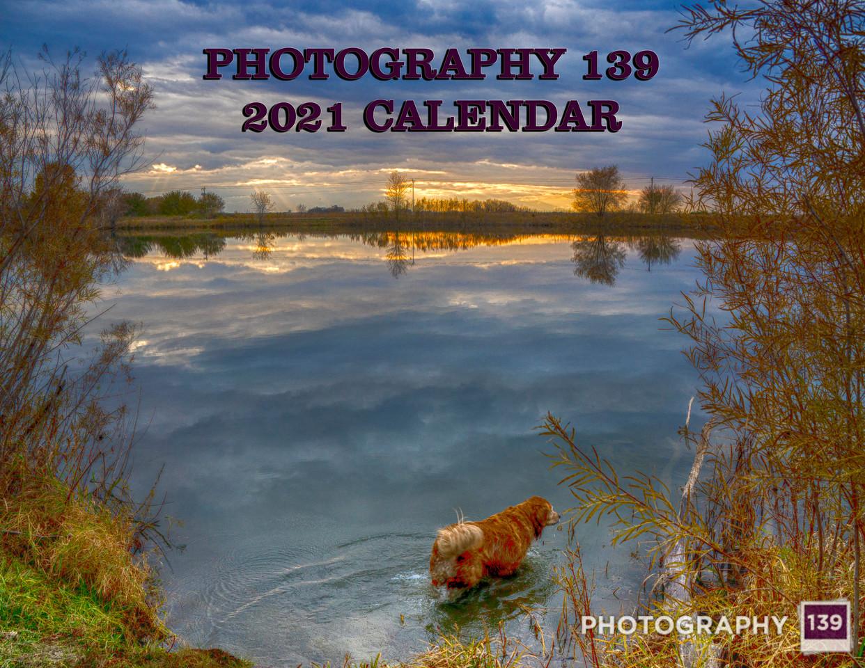 2021 Calendar - Cover