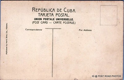 postcard international cuba FF-680W -001