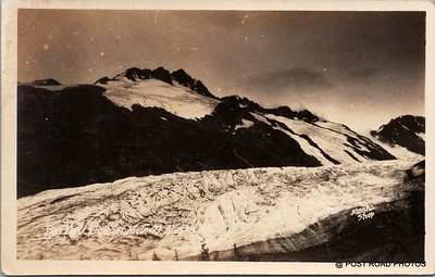 Postcard US Alaska RPPC Government Railway circa 1920 obverse caption  (17)
