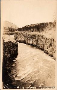 Postcard US Alaska RPPC Government Railway circa 1920 obverse caption  (14)