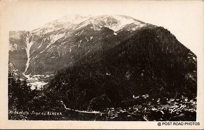 Postcard US Alaska RPPC Government Railway circa 1920 obverse caption  (23)