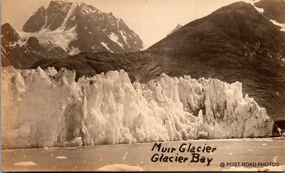 Postcard US Alaska RPPC Government Railway circa 1920 obverse caption  (15)