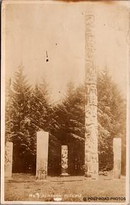 Postcard US Alaska RPPC Government Railway circa 1920 obverse caption  (16)