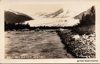 Postcard US Alaska RPPC Government Railway circa 1920 obverse caption  (11)