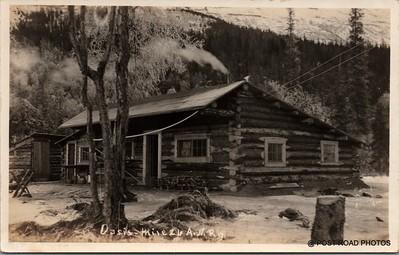 Postcard US Alaska RPPC Government Railway circa 1920 obverse caption  (2)