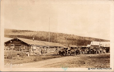 Postcard US Alaska RPPC Government Railway circa 1920 obverse caption  (27)