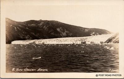 Postcard US Alaska RPPC Government Railway circa 1920 obverse caption  (10)