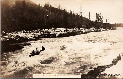 Postcard US Alaska RPPC Government Railway circa 1920 obverse caption  (13)