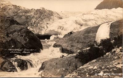 Postcard US Alaska RPPC Government Railway circa 1920 obverse caption  (25)