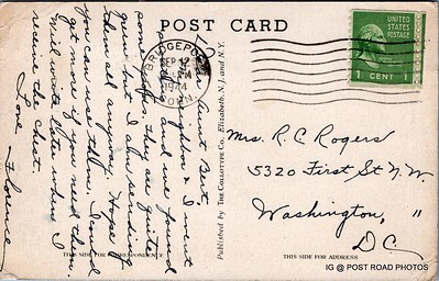 Postcard-USA-milford-connecticut-ellie-russo-benefico+scan FF680W downtown american legion -005