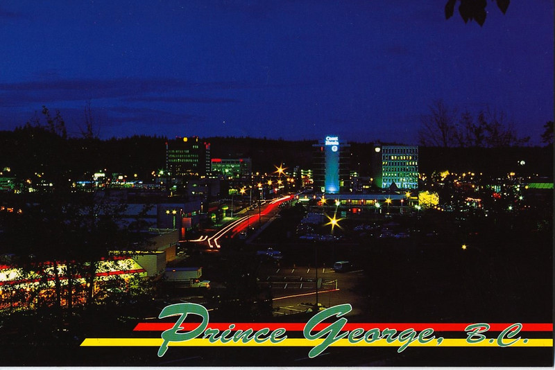 A night scene in PG, this card is going to Germany.