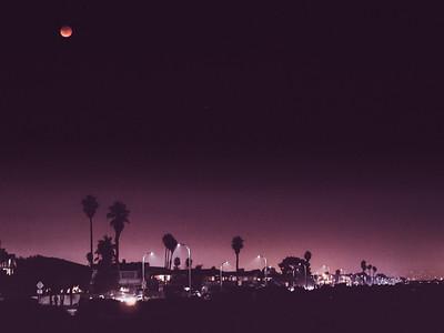 Robert W. Crown Memorial State Beach, Alameda, CA, Super Blood Moon, San Francisco Bay Area