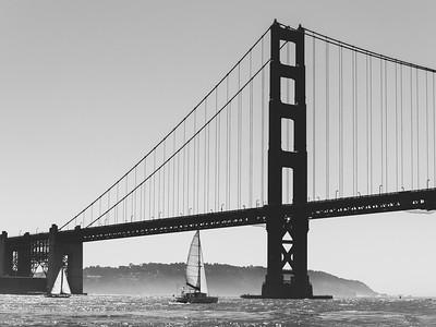 Golden Gate Bridge, Fleet Week 2014, San Francisco Bay Area