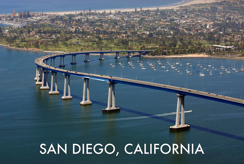 """Bridge To Coronado"" - SKU SANDIEGO3"
