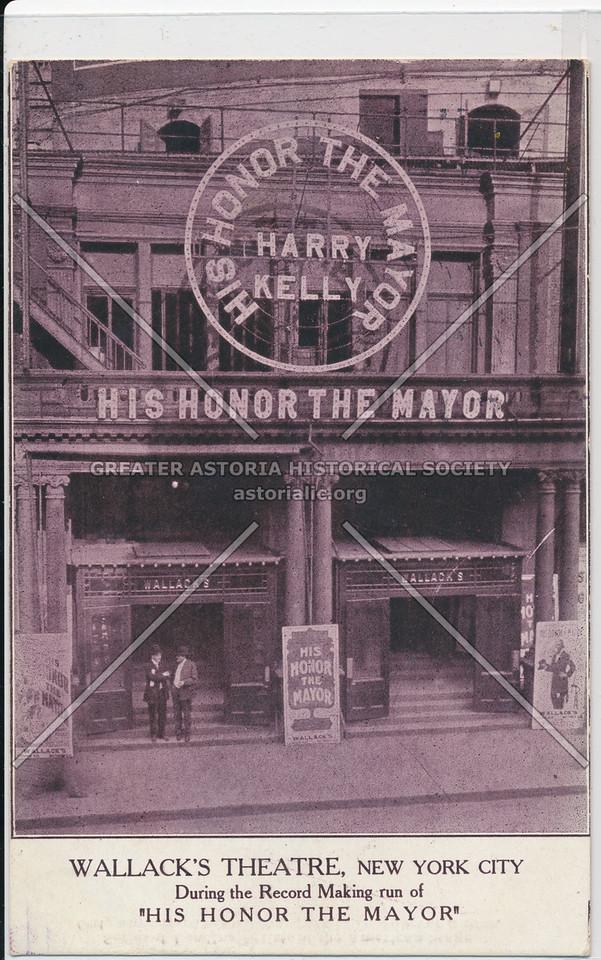 """Wallacks Theater 'His Honor the Mayor"""""""