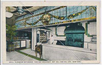 Grill, Eldorado Rotisserie, 1599-1601 Broadway