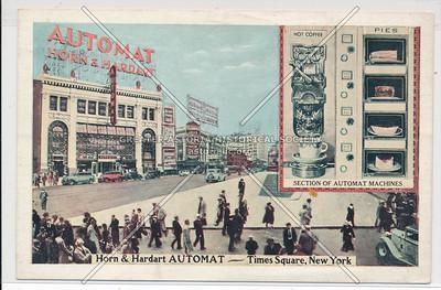 Horn & Hardart Automat- Times Square, New York