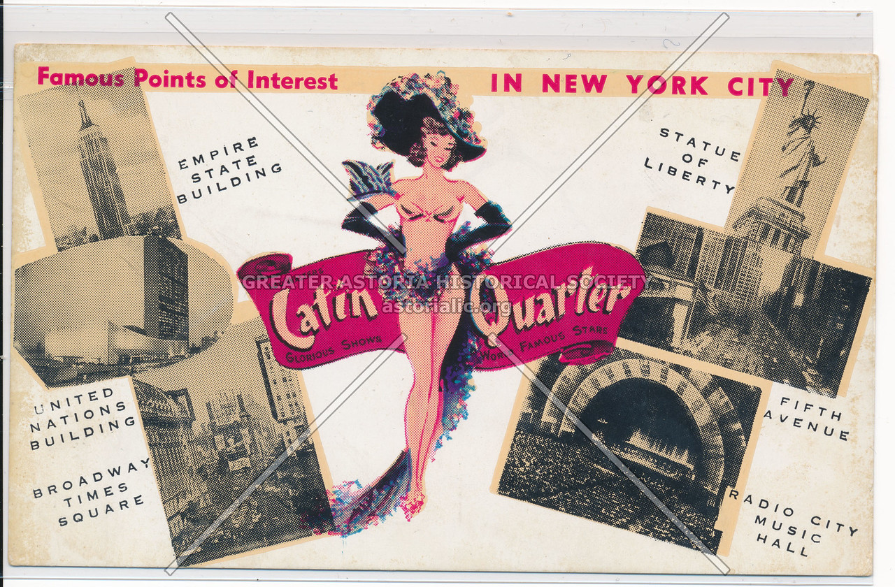 Famous Points of Interest In New York City, Latin Quarter