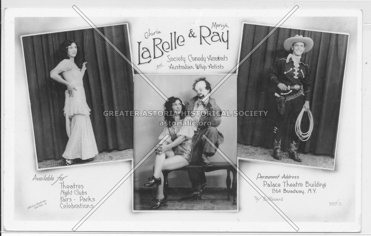 Gloria LaBelle & Morvya Ray