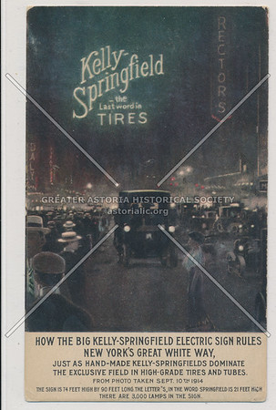 Kelly Springfield- the Last word in Tires
