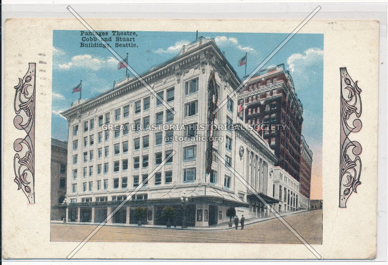Pantages Theatre, Cobb and Stuart Buildings, Seattle