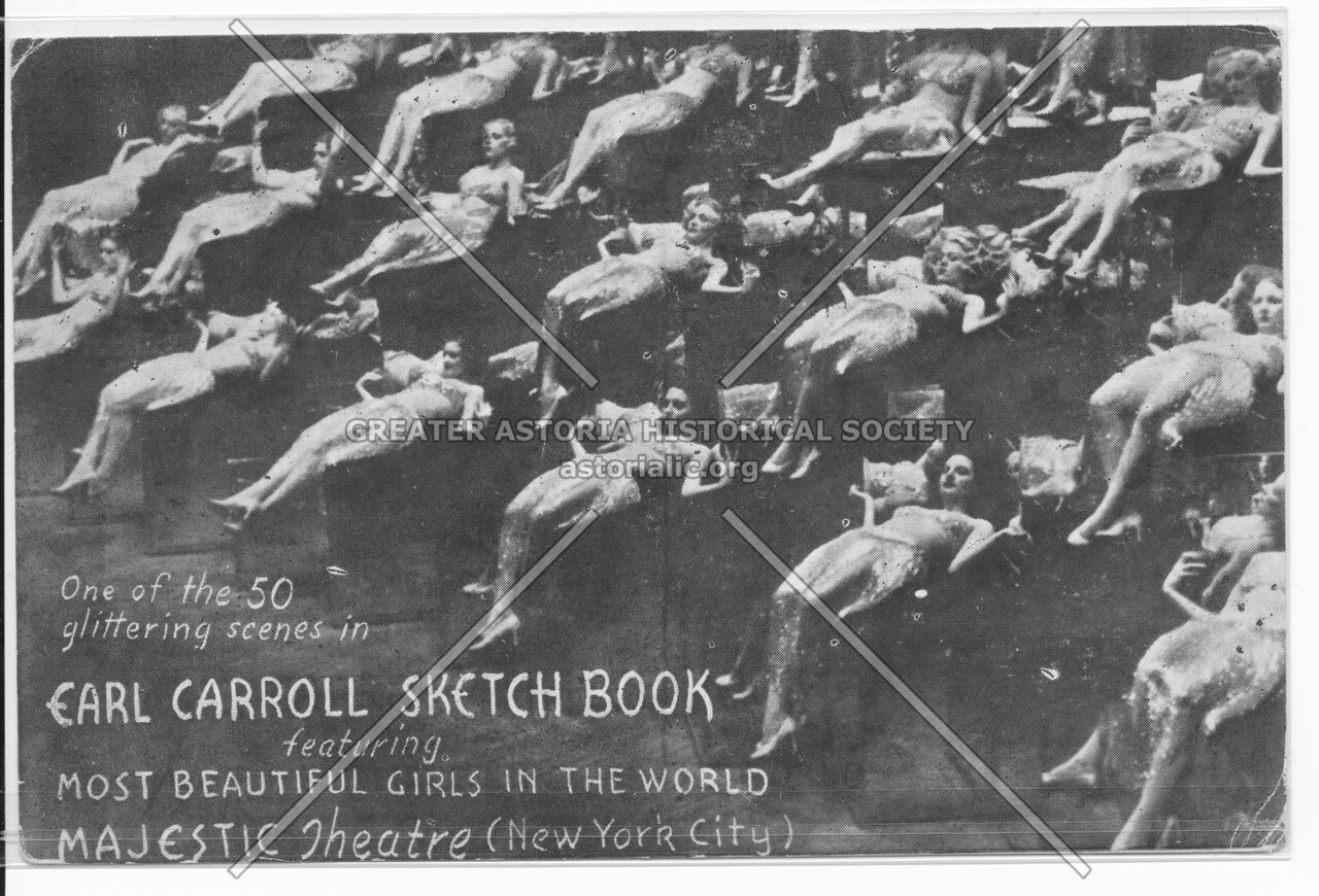 Earl Carroll Sketch Book, featuring Most Beautiful Girls In The World, Majestic Theatre (New York City)